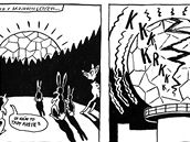 Komiks k akci Cinema Conspiracy